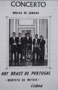 Jonathan Luxton in Hot Brass, Portugal