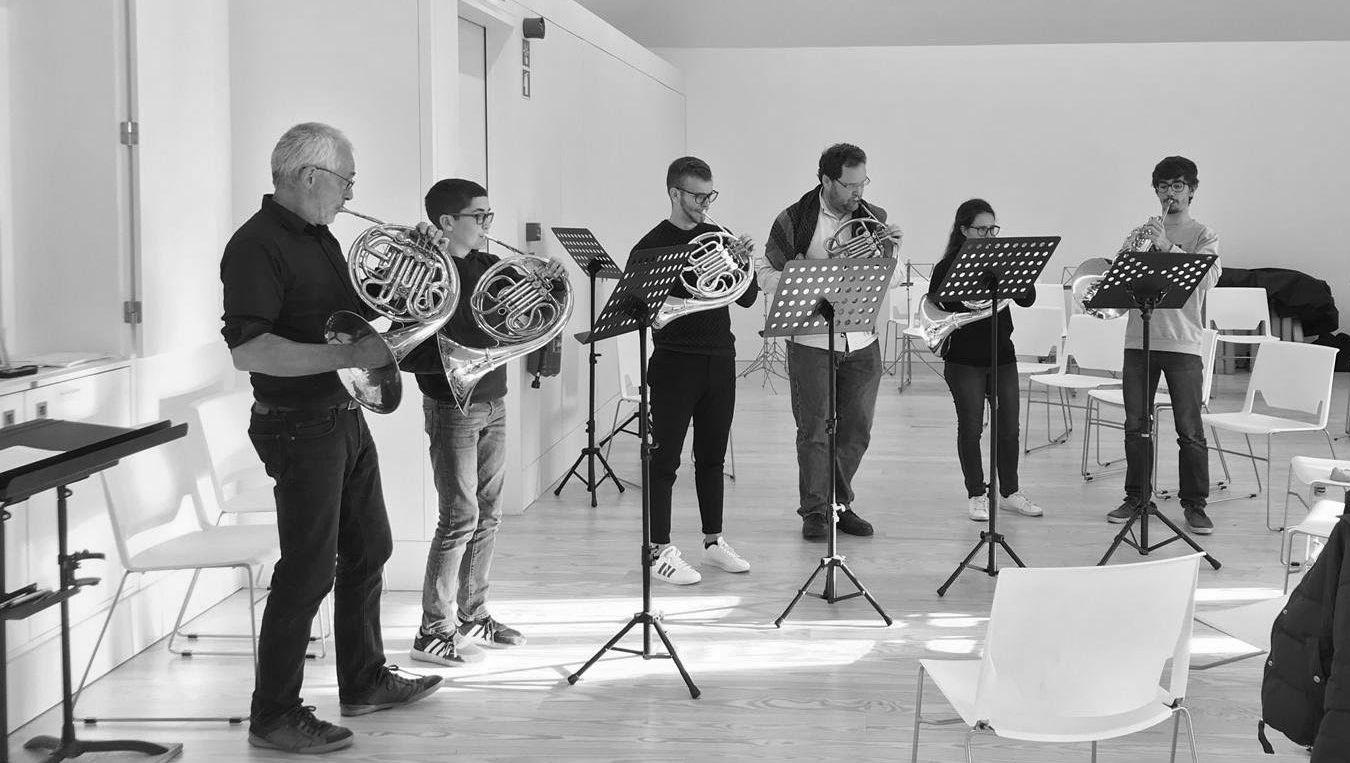 Jonathan Luxton French Horn Masterclass 2019
